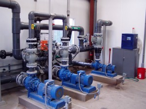 Brewery wastewater pumps