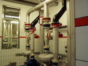 Brewery wastewater pumps