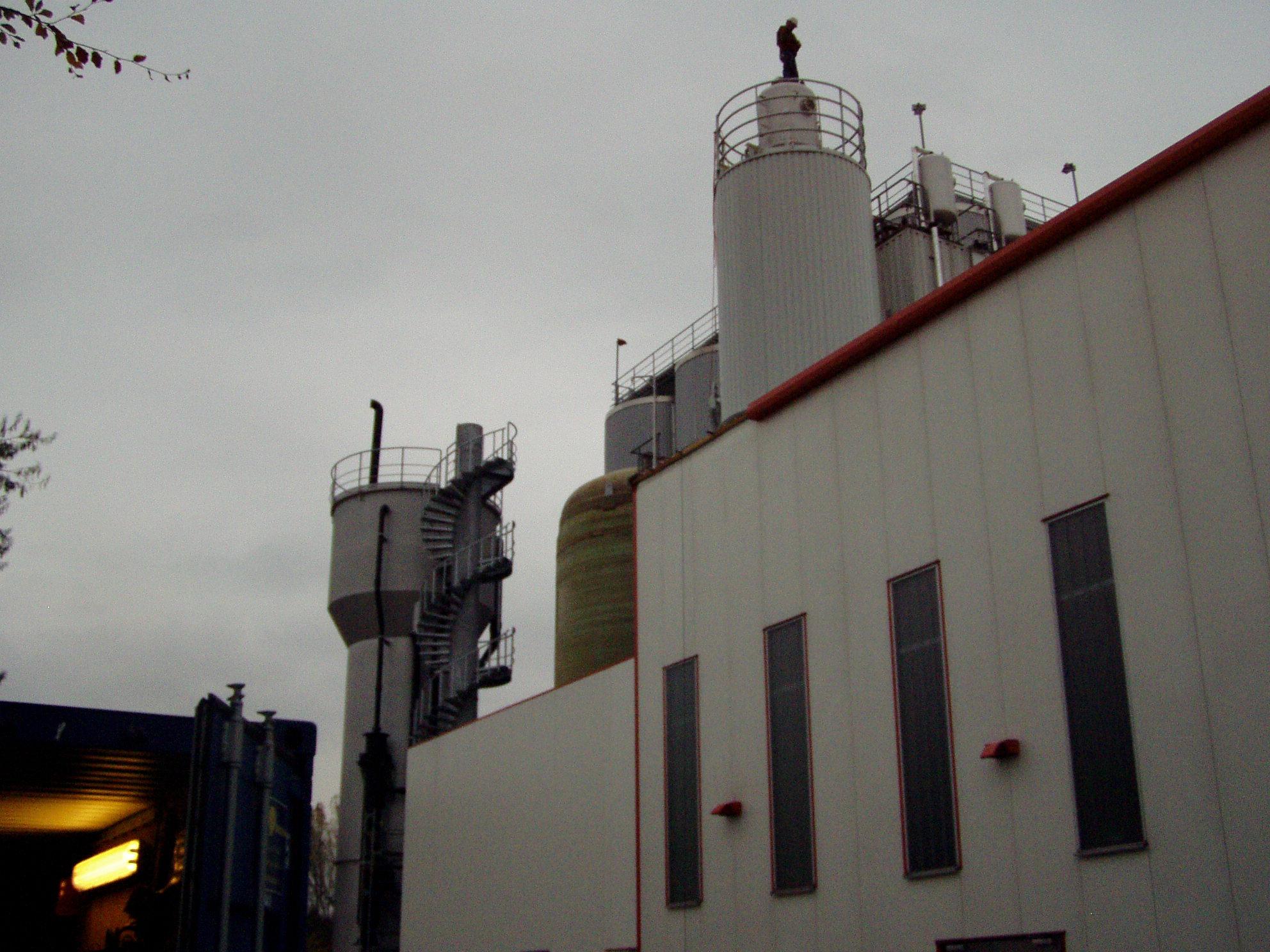 Brewery wastewater anaerobic