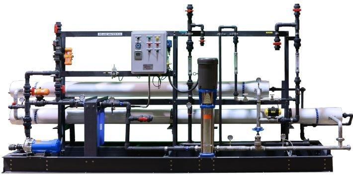 Brewery wastewater reuse