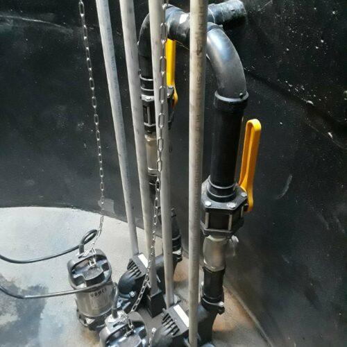 Duplex pumps